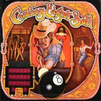 Cowboy Eight Ball backglass